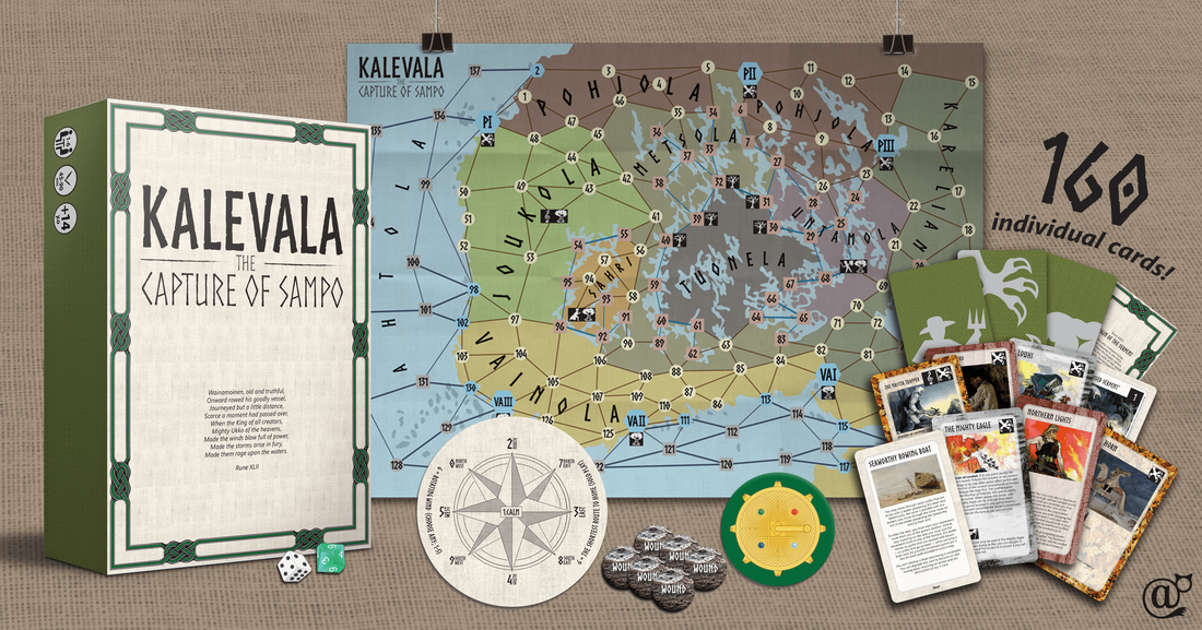 Kalevala the capture of sampo board role game