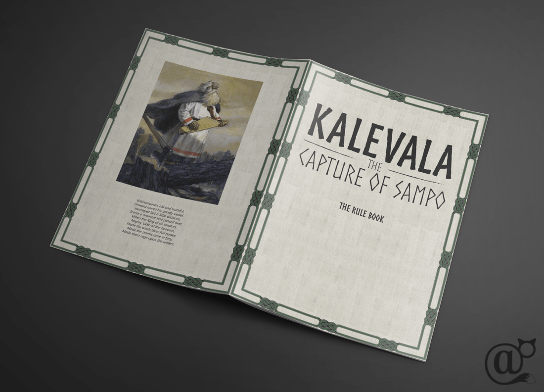 Kalevala the capture of sampo board role game rule book