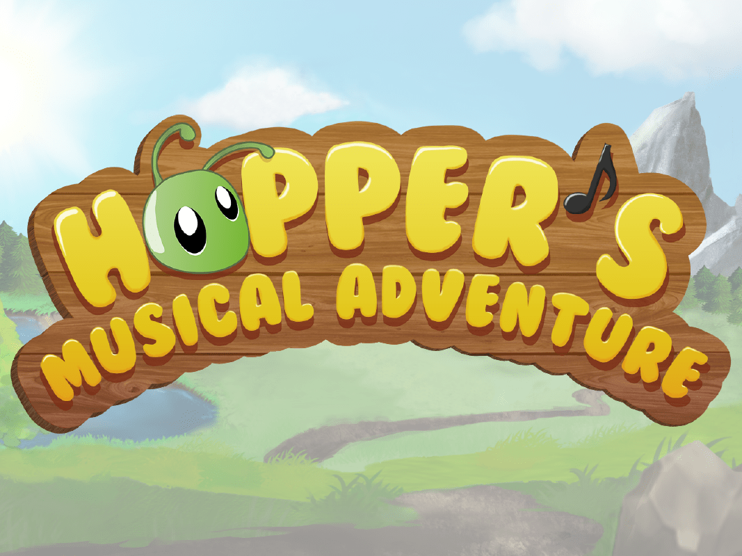 Hopper's Musical Adventure coding game logo